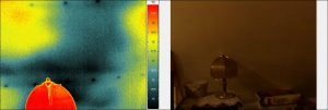 termogram i fotografia dachu