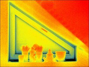 termogram okna